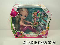 "Кукла ""Thumbelina"", 2 вида, с аксесс. в кор. 42х15х35 /12-2/"
