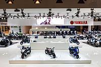 Yamaha на мотовыставке Eicma 2013 в Милане