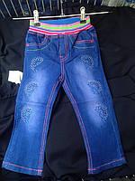 Детские джинсы на девочку оптом