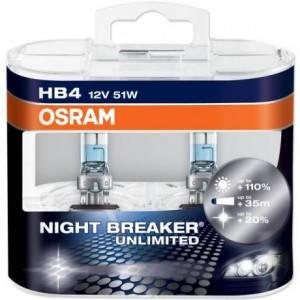 Osram Night Breaker UNLIMITED +110% HB4, фото 2