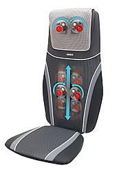 Массажная накидка SensaTouch Shiatsu с прогревом 2в1, 3D массажем шеи, пружинной технологией, вибрацией 2в1