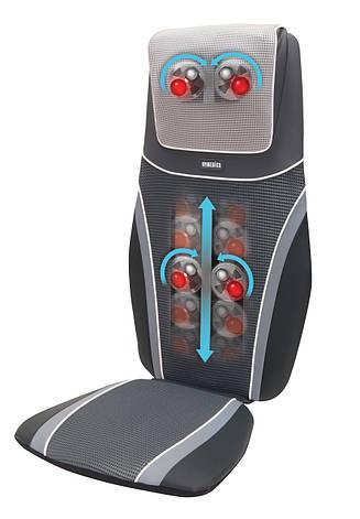 Массажная накидка SensaTouch Shiatsu с прогревом 2в1, 3D массажем шеи, пружинной технологией, вибрацией 2в1, фото 2