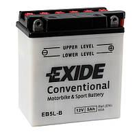 Мото аккумулятор Exide EB5L-B = YB5L-B