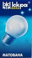 """Лампа накаливания """"шарик"""" ДШМТ 230-40 Вт Е27 матовая колба"""