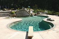 Строительство бетонного скиммерного бассейна