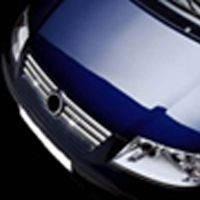 Накладки на решётку радиатора Volkswagen Sharan (1995-2000) 6 шт.