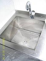 Ванны моечная односекционная из нержавейки