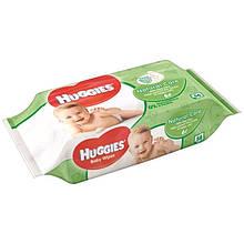 Детские влажные салфетки Huggies Natural Care 56шт. Великобритания