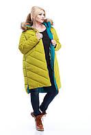 Зимнее пальто Монтана енот р 50-56