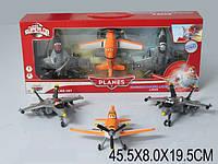 "Самолеты инерц. ""Литачки"", набор 3 шт., в кор. 45х8х19 /36-2/"