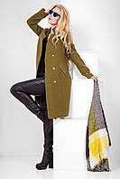 Модное демисезонное пальто Мадлен, разные цвета р 42 - 52