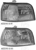 Фонарь габаритный, левый, Honda, Accord, 1990-1991, Depo