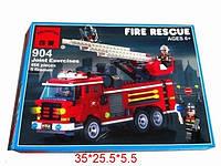 """Конструктор """"Brick - Пожарная охрана"""", 364 дет., в кор. 35х26х5 /30"""