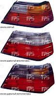Стекло фонаря заднего, левого, Mercedes, 1984-1996, Depo
