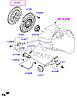 Диск сцепления на Hyundai Accent.Код:41100-32001