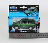 Welly. Модель LADA 4X4 FOREST CONSERVATION /36/