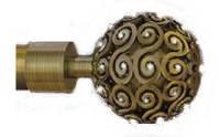 Наконечник на кованный карниз 19 мм EG 214