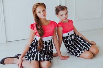 Детские платья и туники оптом