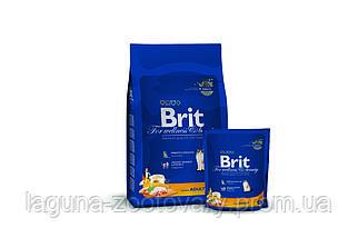 Брит Премиум Курица 300гр - повседневный сухой корм для взрослых кошек