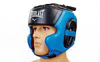 Шлем боксерский в мексиканском стиле Elast BO-5241-B