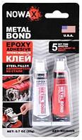 Клей эпоксидный Nowax SUPER BOND ✔ цвет: стальной ✔ 20гр.