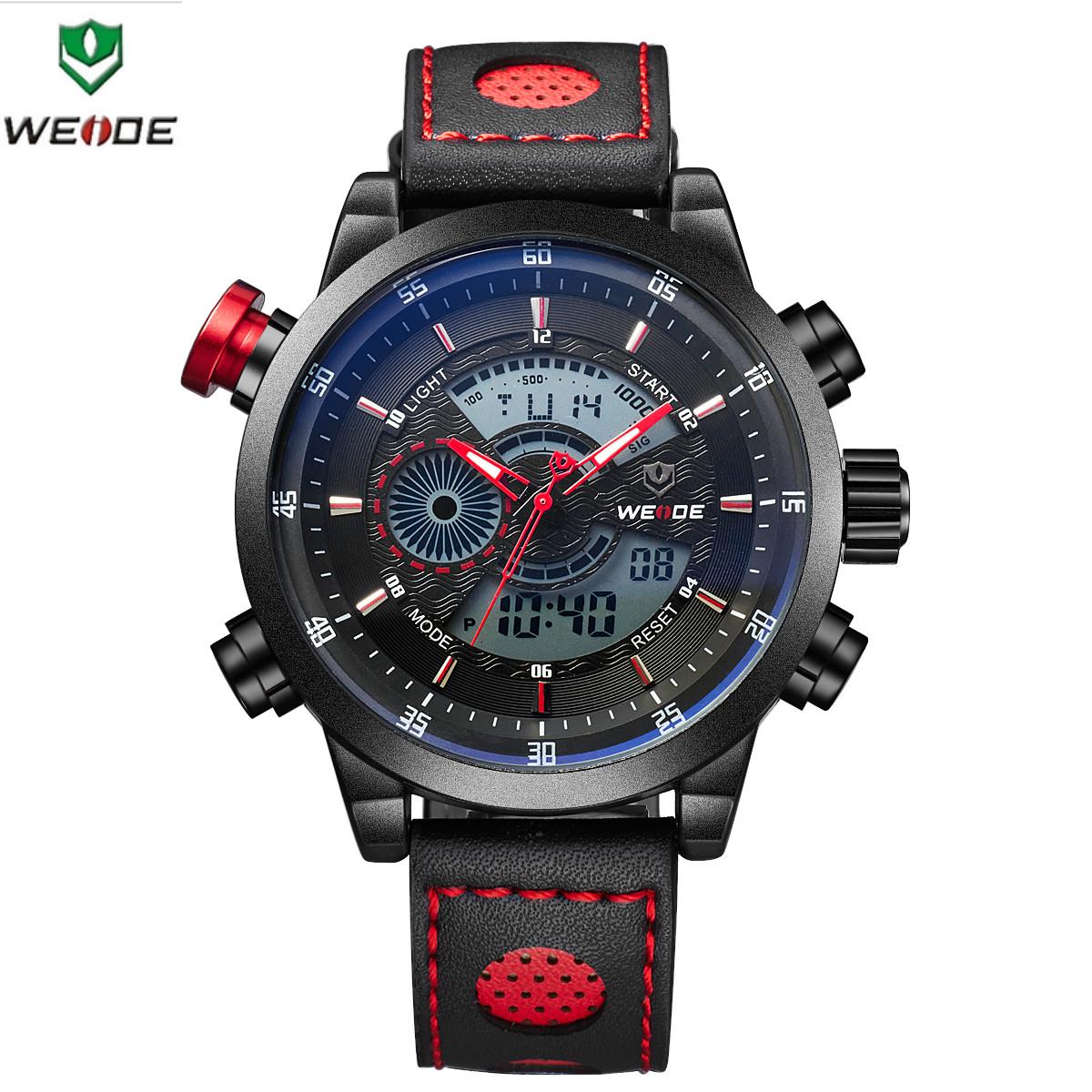 Мужские спортивные часы WEIDE WH-3401 Red