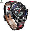 Мужские спортивные часы WEIDE WH-3401 Red, фото 4