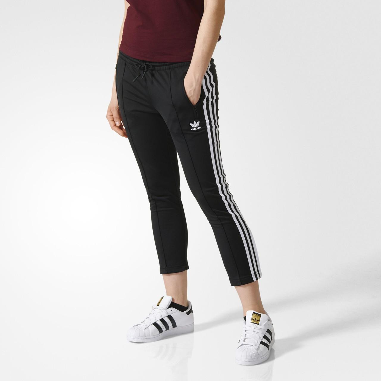 Женские брюки Adidas Originals Cigarette (Артикул  AY5239) -  Интернет-магазин «Эксперт 9468379da45