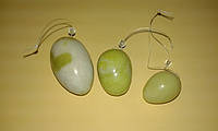 Массажные нефритовые яйца, Шары Венеры (уценка, шероховатость)