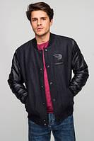 Куртка-бомбер мужская R1 black, фото 1