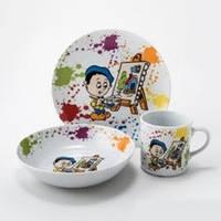 Комплект детский из трех предметов Lubiana Польша