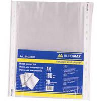 Файл А4 BUROMAX 30 мк 3800 (100шт.)