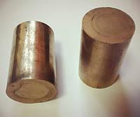 Круг бронзографитовый диаметром 22 мм х 35 мм