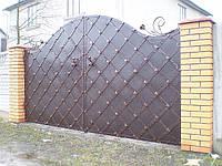 Кованные ворота 2410