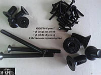 Винт М6*8-80 DIN 7991 с потайной головкой и шестигранным шлицем, класс прочности 10.9