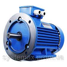 Электродвигатель АИР80А6 (АИР 80 А6) 0,75 кВт 1000 об/мин , фото 2