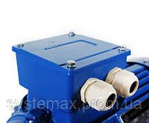 Электродвигатель АИР80А6 (АИР 80 А6) 0,75 кВт 1000 об/мин , фото 3