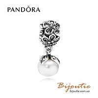 Pandora шарм ВИОЛА ЦВЕТОК 790858P серебро 925 Пандора оригинал