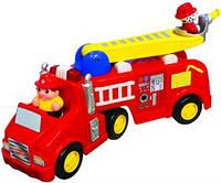 Развивающая игрушка Kiddieland Preschool ПОЖАРНАЯ МАШИНА 044602