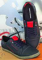 Tommy Hilfiger! мужские Классные кеды весенние  кожа туфли обувь