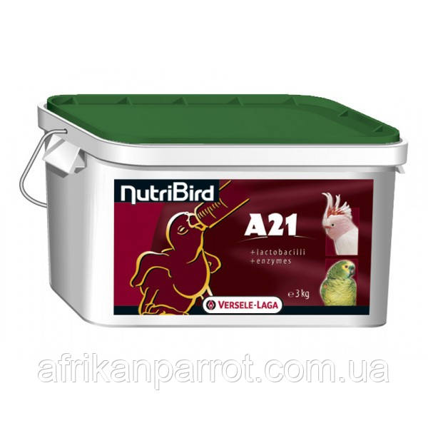 Корм Versele-Laga Prestige A21 для ручного вскармливания птенцов 3кг