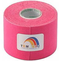 Towatek Korea Кинезио тейп TemTex 5см х 5м (розовый)