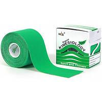 Nasara Кинезио тейп Nasara 5см х 5м (зеленый)