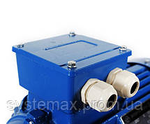 Электродвигатель АИР80В6 (АИР 80 В6) 1,1 кВт 1000 об/мин , фото 3