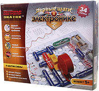 Конструктор Знаток 34 схемы, набор С REW-K062