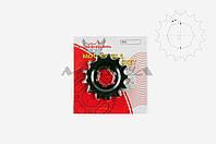 "Звезда трансмиссии (передняя)    на мотоцикл ЯВА   428-13T   ""DGH"""