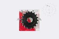"Звезда трансмиссии (передняя)    на мотоцикл ЯВА   428-18T   ""DGH"""