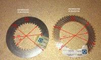 Фрикционные диски КПП для погрузчиков Foton FL936F