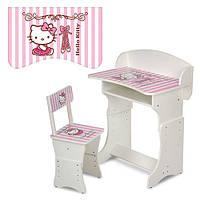 Парта со стульчиком 301-2 Hello Kitty (3)