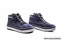 Ботинки женские нубук Mida (ботильоны комфортные,легкие, байка по 41р)
